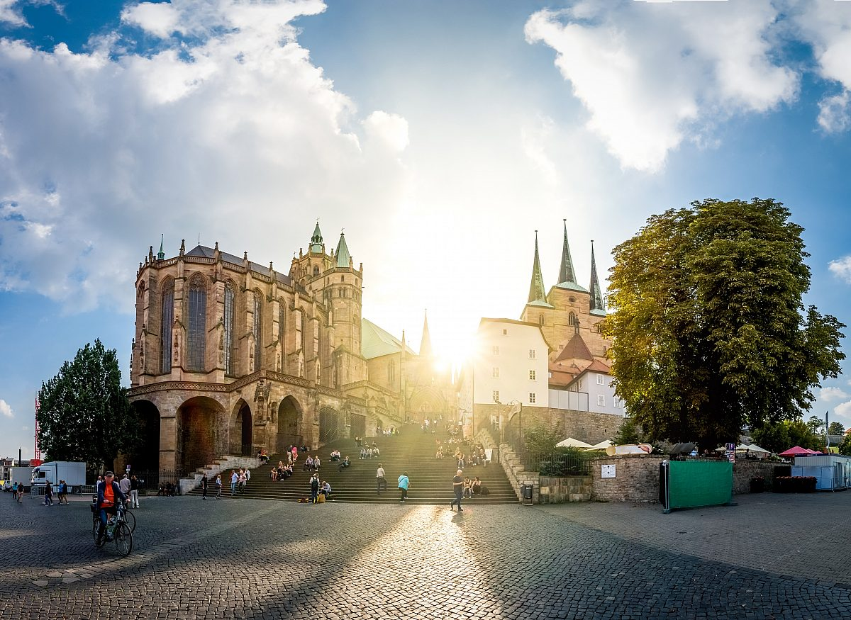 Thüringen Erfurt Dom Copyright: Fotolia/Pure Life Pictures