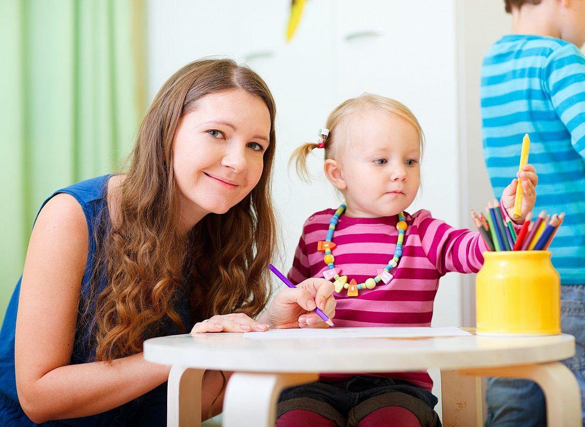 Erzieher_Kindergarten Copyright: Fotolia/Blueorange Studio