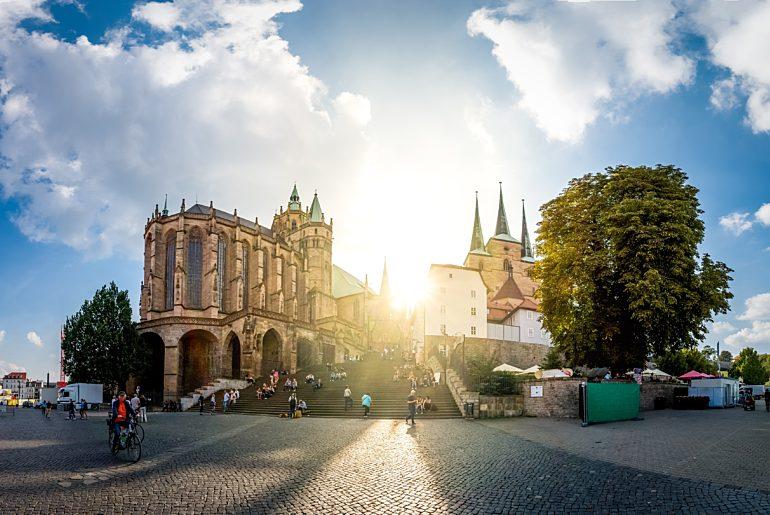 Thüringen Erfurt Dom