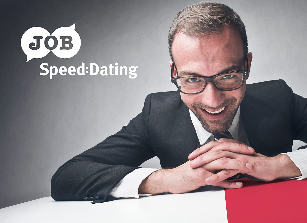 Job-Speeddating Copyright: © LEG Thuringen
