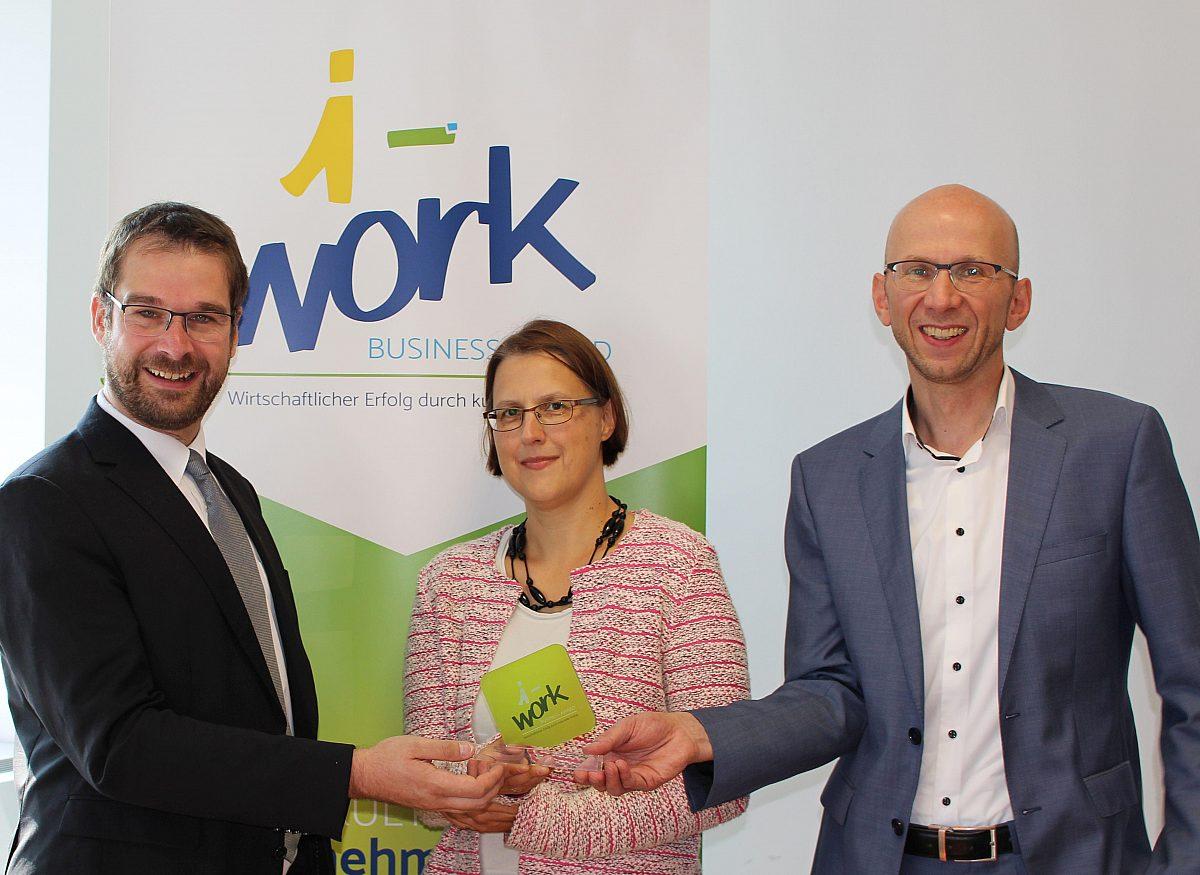 Kick Off I Work Business Award Jenawirtschaft Copyright: © I Work Business Award Jena