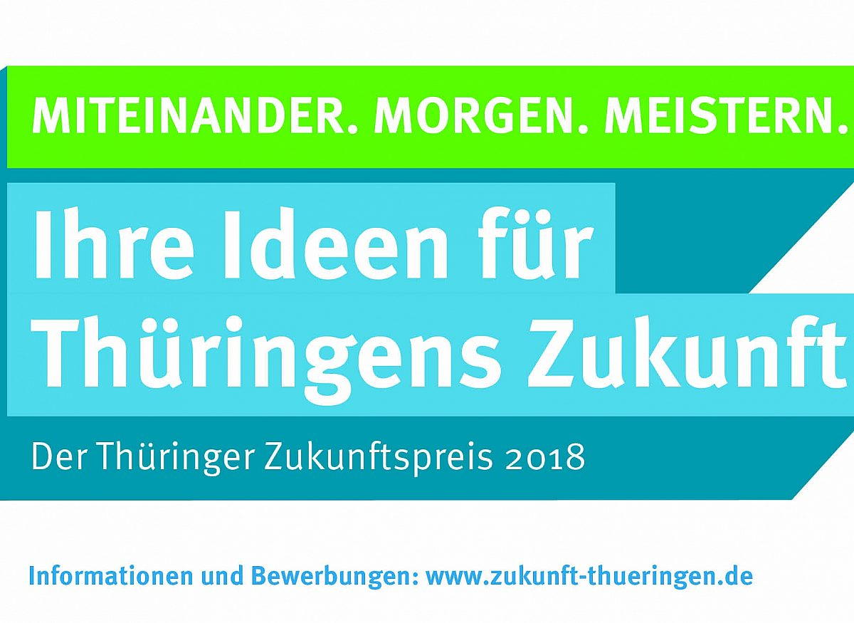 Thüringer Zukunftspreis 2018 Copyright: © TMIL