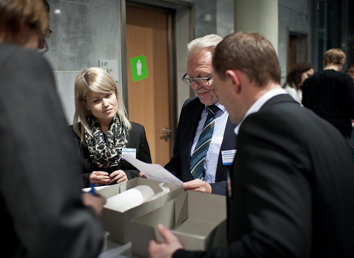Job-Speeddating_Teamarbeit Copyright: LEG Thüringen/Thomas Abé