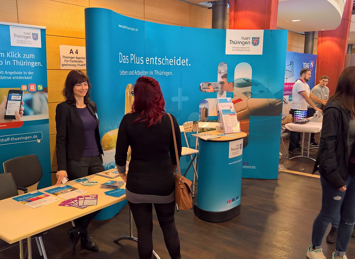 Jobmesse_ThAFF-Stand Copyright: LEG Thüringen