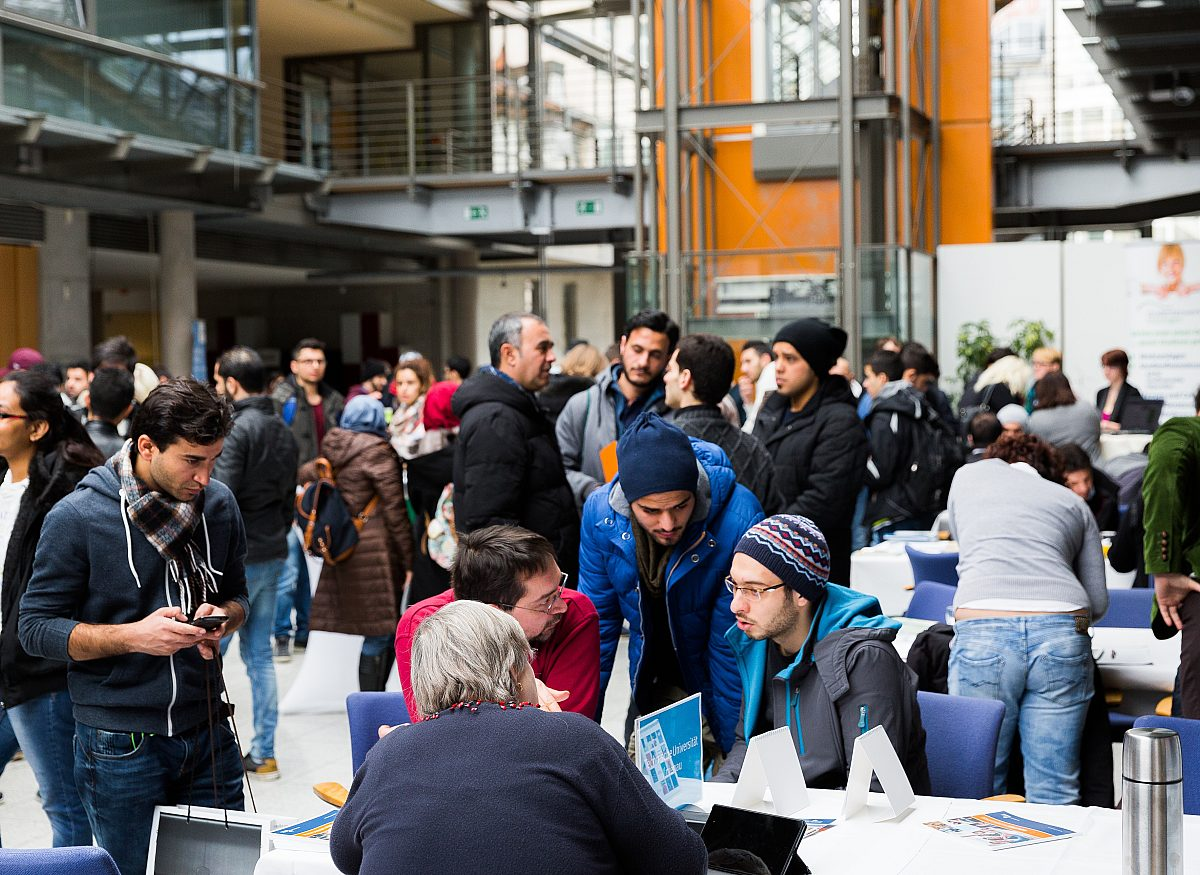 Veranstaltung Migranten Copyright: LEG Thüringen/Thomas Abe
