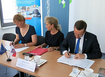 Unterzeichnung Kooperationsvereinbarung vtw - ThAFF